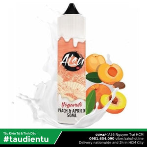 Tinh Du Vape M V Ào The Aisu Juice Eliquid Peach Apricot Fruit Ice Nic Salt Hút Tu Freebase 10 60Ml