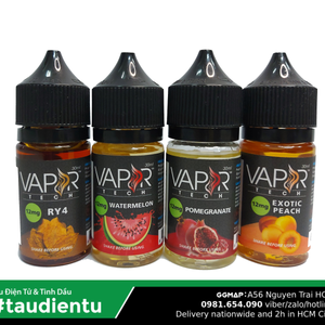 Tinh Du Vape M V Ào The Mát Vapor Tech Usa Juice Eliquid Iced Exotic Peach Hút Tu Freebase 12 30Ml