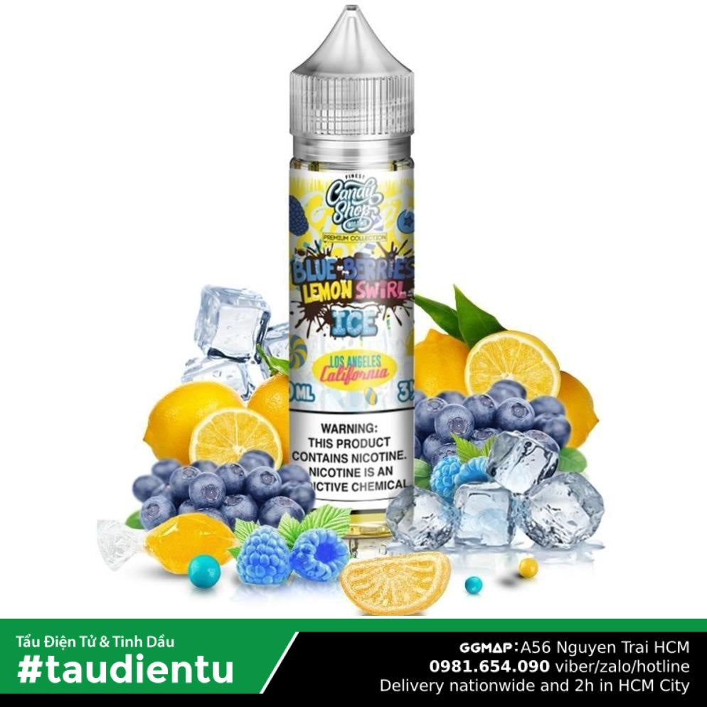 Tinh Du Vape M V Ko Do Chanh Và Vit Qut The Mát Chua Ngt Finest La California Premium Collection Ice