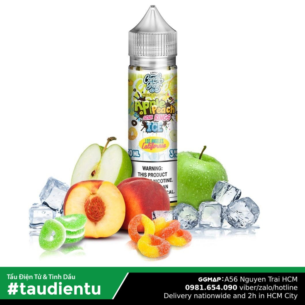 Tinh Du Vape M V Ko Do Táo Ào The Mát Chua Ngt Finest La California Premium Collection Ice Apple
