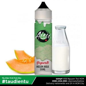 Tinh Du Vape M V Sa Da Li The Aisu Juice Eliquid Melon Milk Fruit Ice Nic Salt Hút Tu Freebase 10