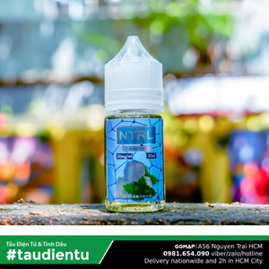 Tinh Du Vape V Bc Hà The Mát M Ntrl Pure Ice Usa Juice Eliquid Mint Hút Tu Salt Nic 35 30Ml