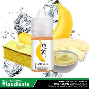 Tinh Du Vape V Chui The Mát M Tokyo Usa Juice Eliquid Iced Banana Hút Salt Nic 35 30Ml