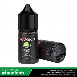 Tinh Du Vape V Da Li The Mát M Hot Head Usa Juice Eliquid Iced Melon Hút Salt Nic 35 30Ml