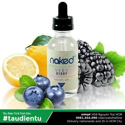 Tinh Du Vape V Qu Vit Qut Mâm Xôi Và Dâu En The Lnh Naked Vape Very Cool Juice Eliquid Blueberries