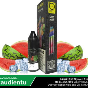 Trn B Tu Hút Dùng 1 Ln Tinh Du V Da Hu The Mát Kokin Tt 5000 Vape Pod System Disposable Kit Juice