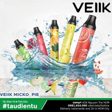 Trn B Tu Vape Dùng 1 Ln Tinh Du V Da Hu Thái The Mát Veiik Micko Pie Tt Pod System Disposable Kit