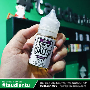 VAPE Tẩu Điện Tử - This Is Salts Grape Salt Nic