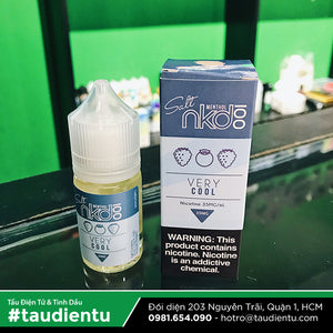 VAPE Tẩu Điện Tử - Vape E-liquid Salt Nicotine Naked100 Very Cool (Blueberries, Blackberries, Raspberries, Icy) 30ml - Tinh dầu Vape vị Quả mọng Naked100 Very Cool Nicotine Salt