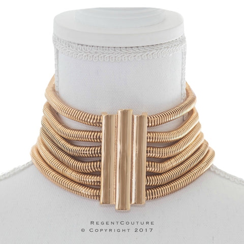Snake Chain Choker Necklace - RegentCouture