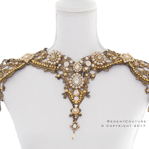Victorian Lace Collar Necklace - RegentCouture