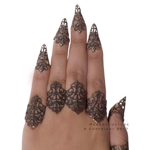 5 or 10 Pcs Claw Rings - RegentCouture