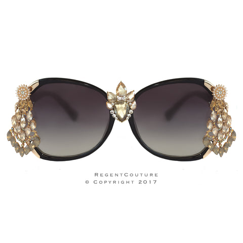Allure Topaz Gold Sunglasses