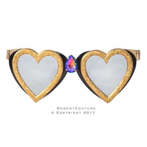 King of Hearts Sunglasses - RegentCouture