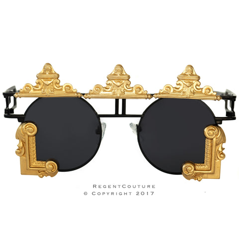 Shah Sunglasses In All Black