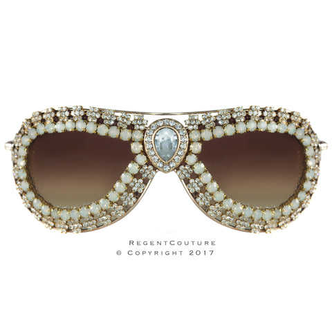 Paris Reverie Crystal Sunglasses