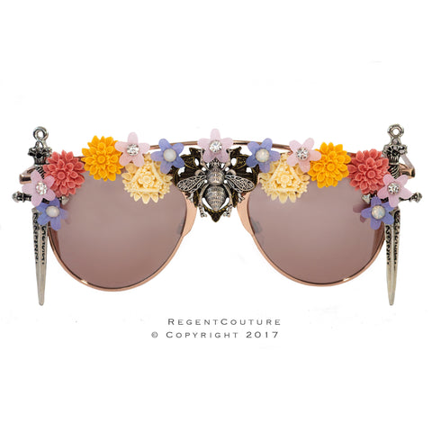 Floral Dreams Sunglasses - RegentCouture