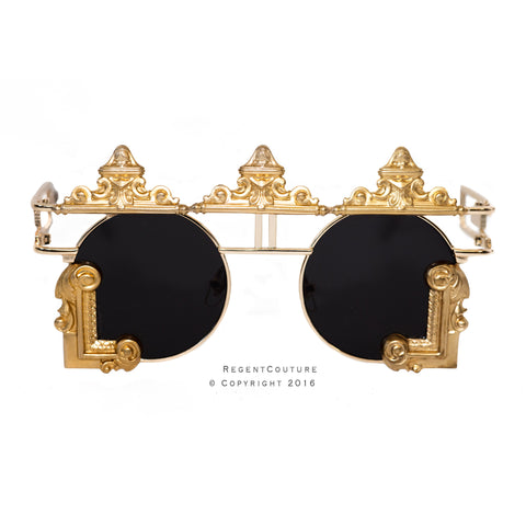 Shah Sunglasses In Black - RegentCouture