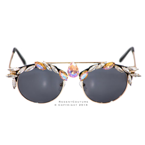 Jewel Metal Sunglasses (Discontinued) - RegentCouture