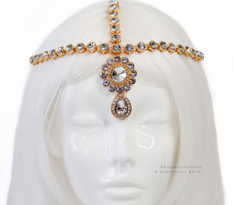 Nebet Gold Headpiece - RegentCouture