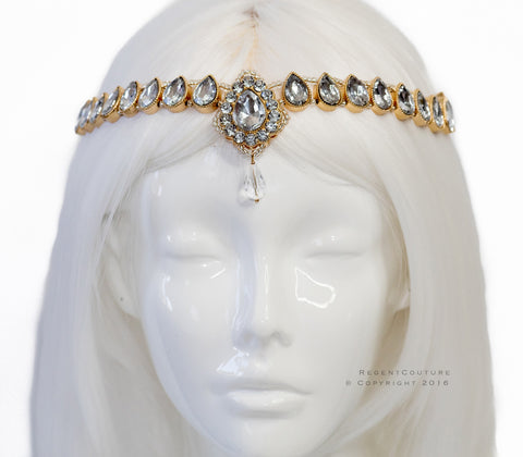 Cleopatra Gold Headpiece - RegentCouture