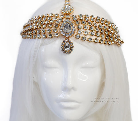 Nez Gold Headpiece - RegentCouture