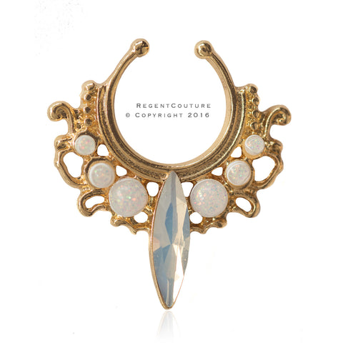 Fake Rajah Septum Nose Ring - RegentCouture