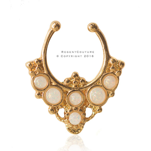 Ambra Septum Nose Ring - RegentCouture