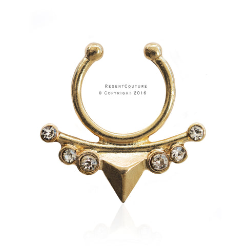 Myreen Fake Septum Nose Ring - RegentCouture