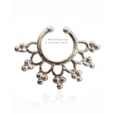 Taalia Fake Septum Nose Ring - RegentCouture