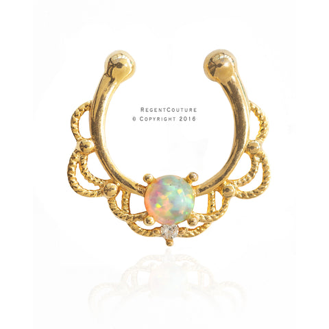 Humra Fake Septum Nose Ring - RegentCouture