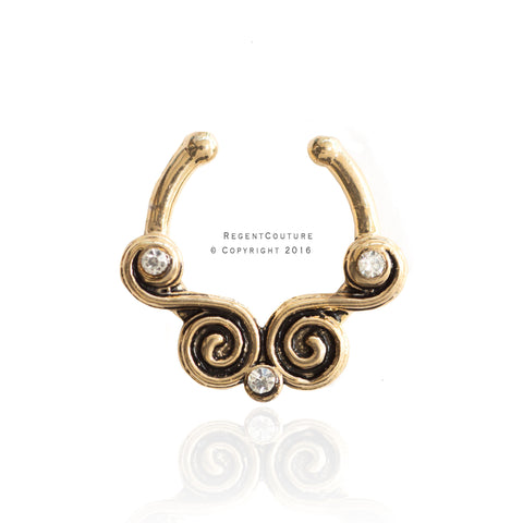 Safi Fake Septum Nose Ring - RegentCouture