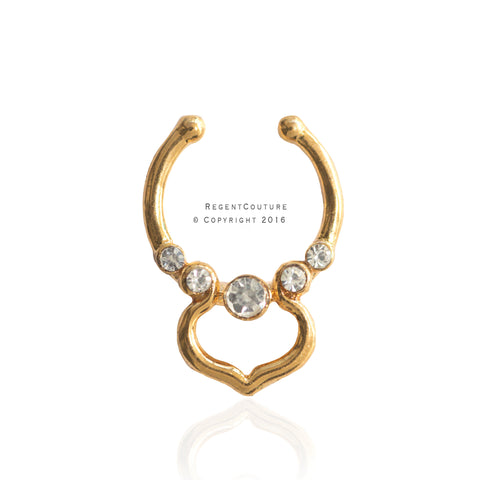 Jamilah Fake Septum Nose Ring - RegentCouture