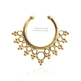 Drops Fake Septum Nose Ring - RegentCouture