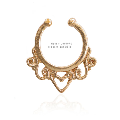 Nadira Fake Septum Nose Ring - RegentCouture