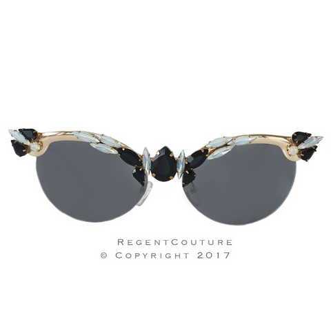 Black opal Cat eye - RegentCouture