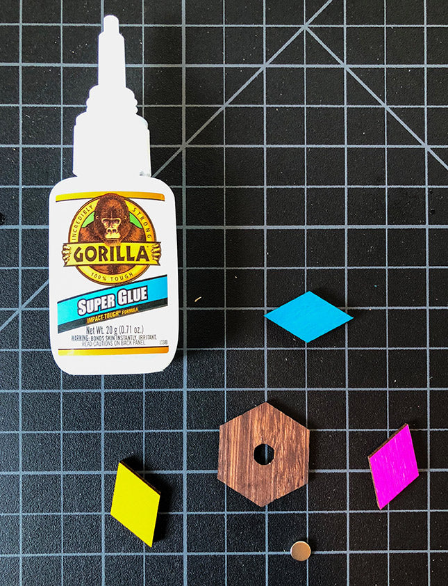 gluing wood with super glue