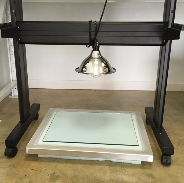 DIY exposure unit for screen printing