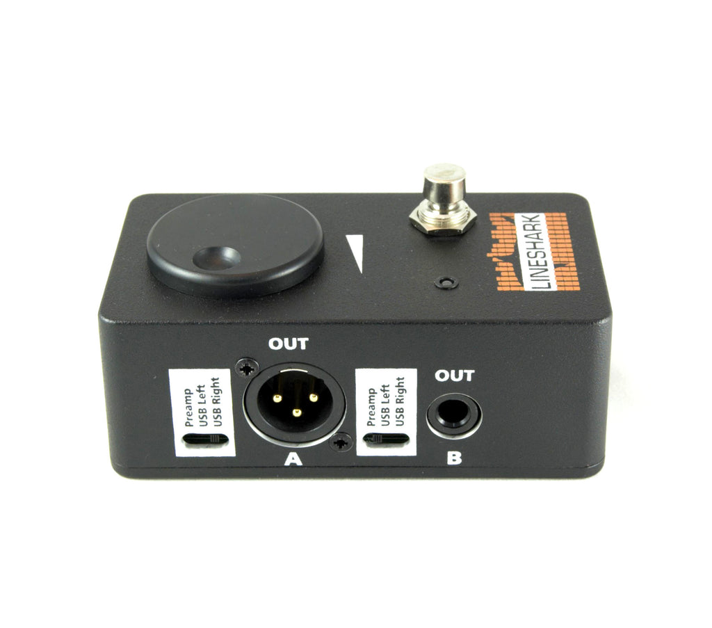 LINESHARK Audio Interface Pedal