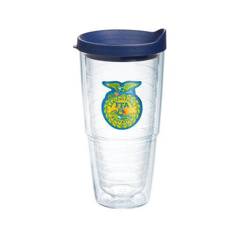Tervis 24oz Cup with Patch - Blue Lid
