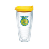Tervis 24oz Cup with Patch - Yellow Lid