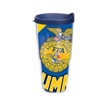 Tervis 24oz Cup with Wrap/Alumni - Blue Lid
