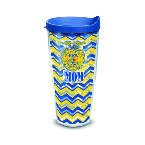 Tervis 24oz Cup with Wrap/Mom - Blue Lid