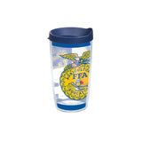 Tervis 16oz Cup with Wrap/Core - Blue Lid