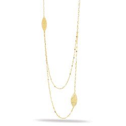 10k Yellow Gold Fashion Necklace 30""