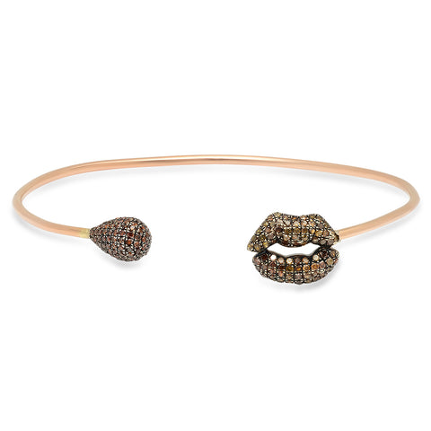 Diamond Circle Choker - Yellow Gold
