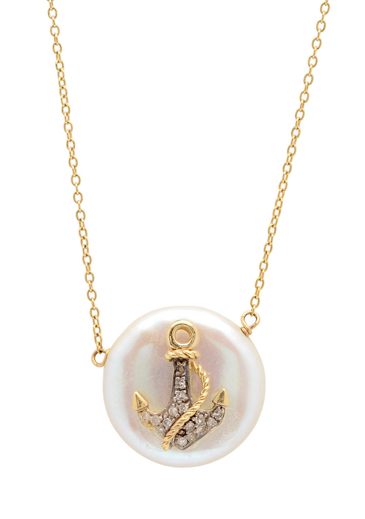 Anchor Perla Necklace