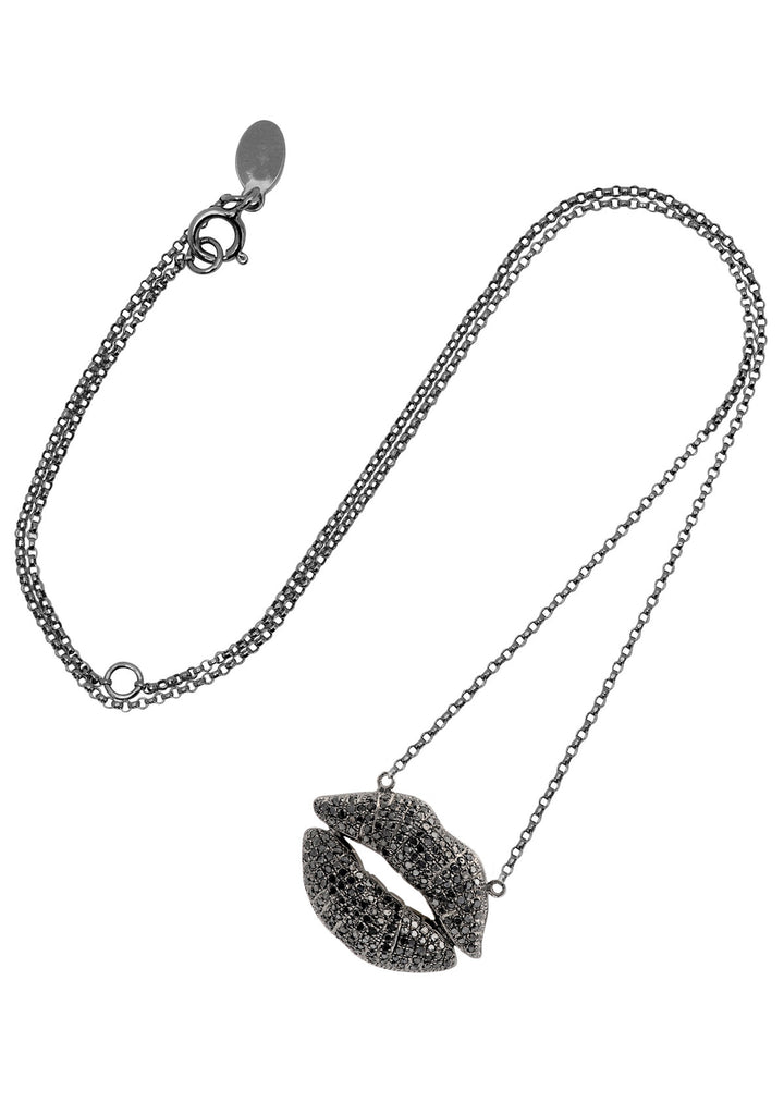 Big Bliss Kiss Necklace