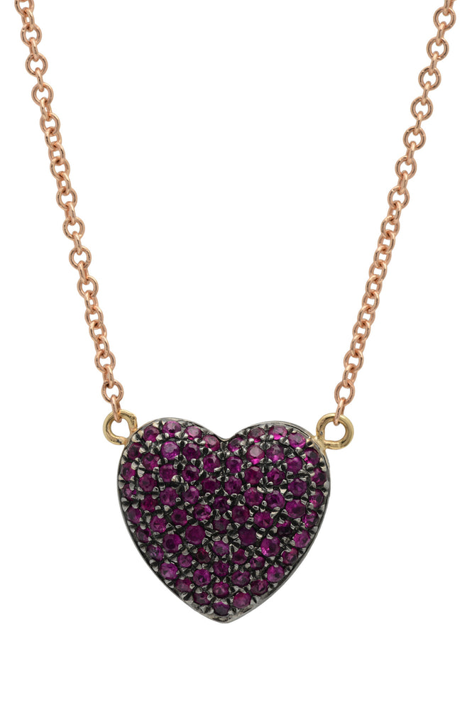 Medium Bliss Heart Necklace