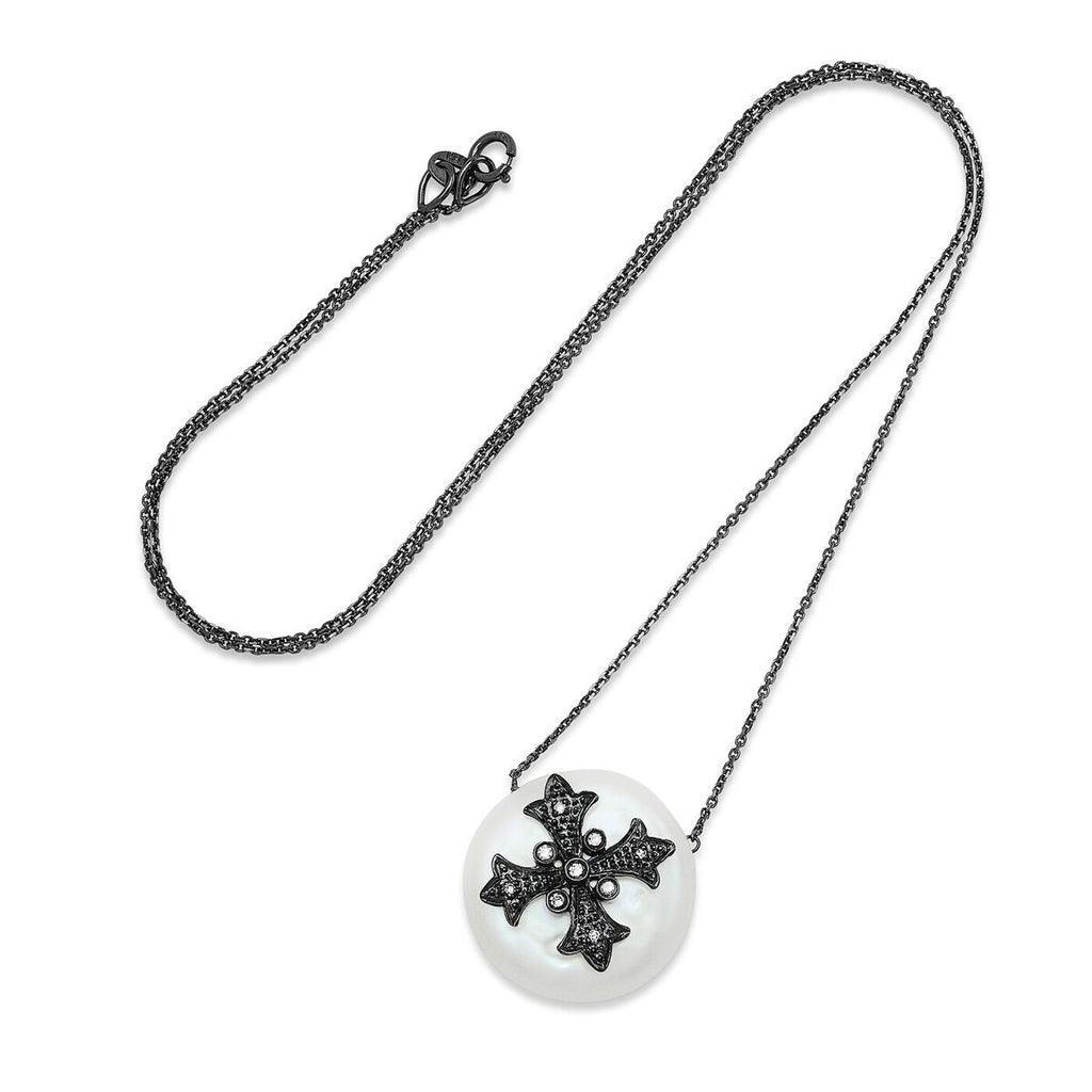 Cross Erminee Perla Necklace